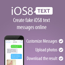 Fake iPhone iOS8 Text Messages | iOS8text com